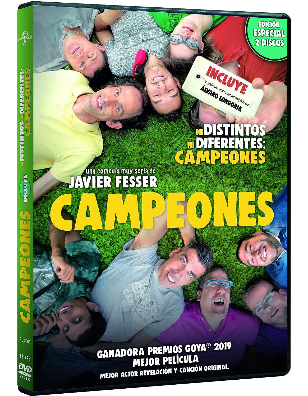Pack: Campeones + Ni Distintos Ni Diferentes: Campeones [DVD]