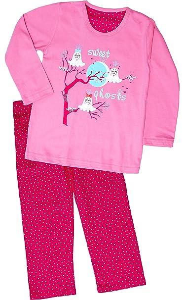 Cornette Niña Pijamas Conjunto Pijamas Niña Invierno Verano CR-540-Sweet-Ghosts (