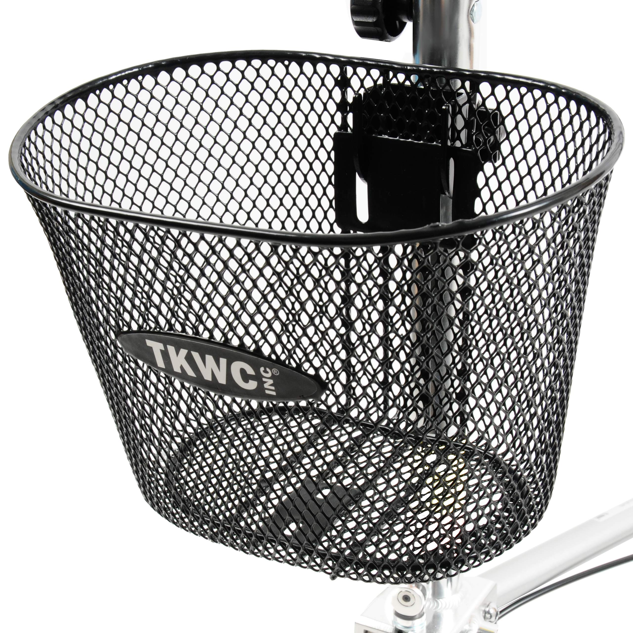 Knee Scooter Basket Accessory by TKWC INC - Universal Bracket Mount Included! - Fits Most Knee Walker Models by TKWC INC