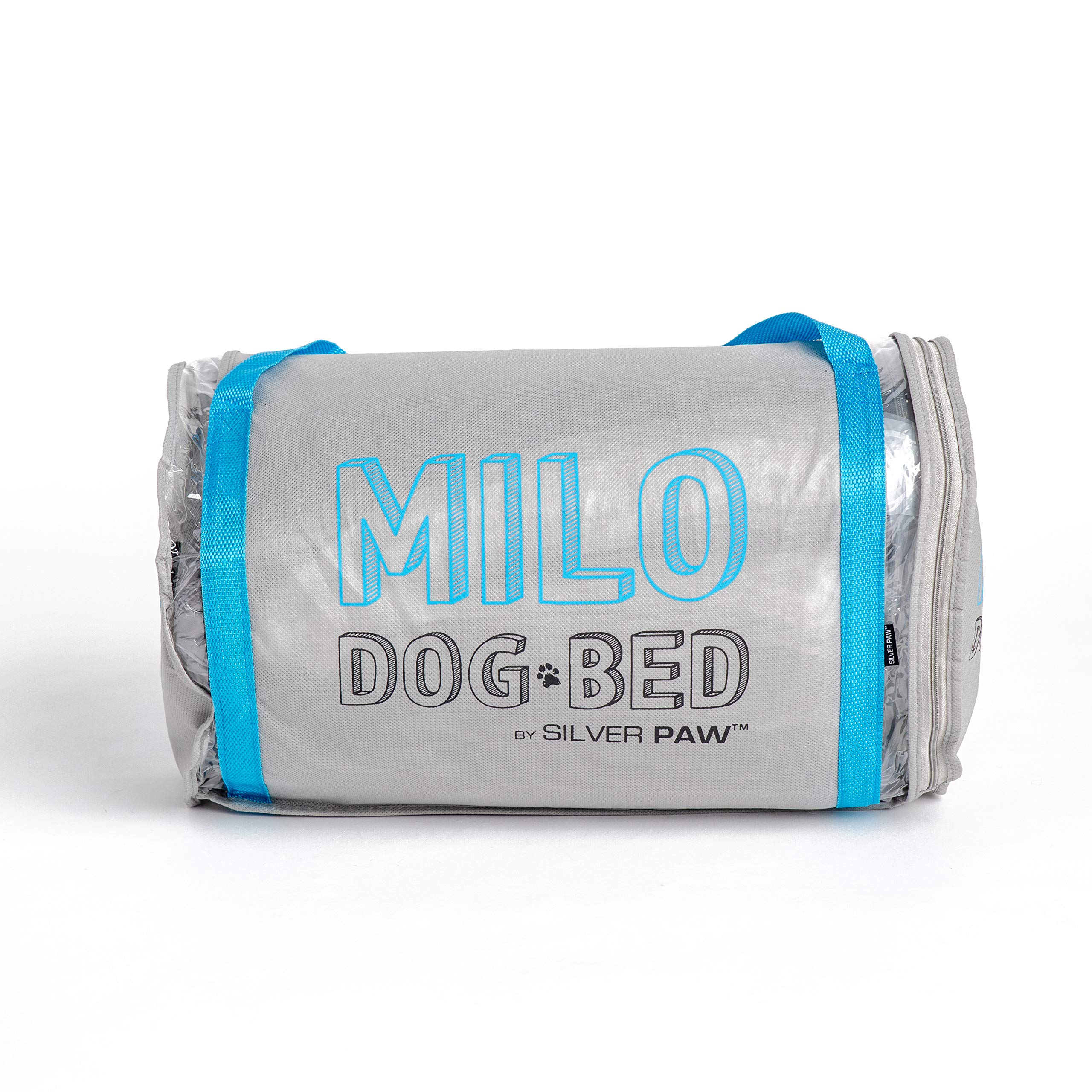 Milo Dog Bed Featuring SilverShield Technology & Lavender Sachet by Silver Paw