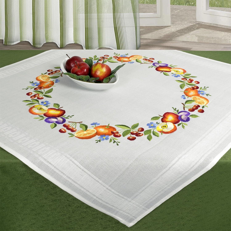 Paquete completo de bordado, diseño de corona de frutas, paquete ...