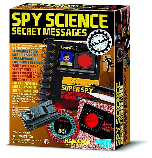 2 opinioni per Spy science: messaggi segreti