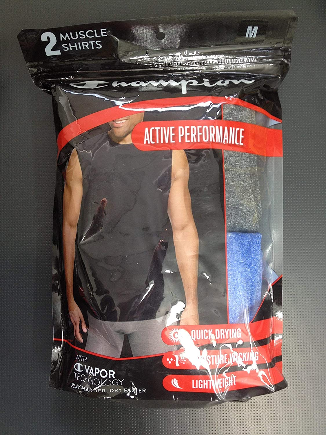 Champion Active Performance Muscle Shirt 2-Pack
