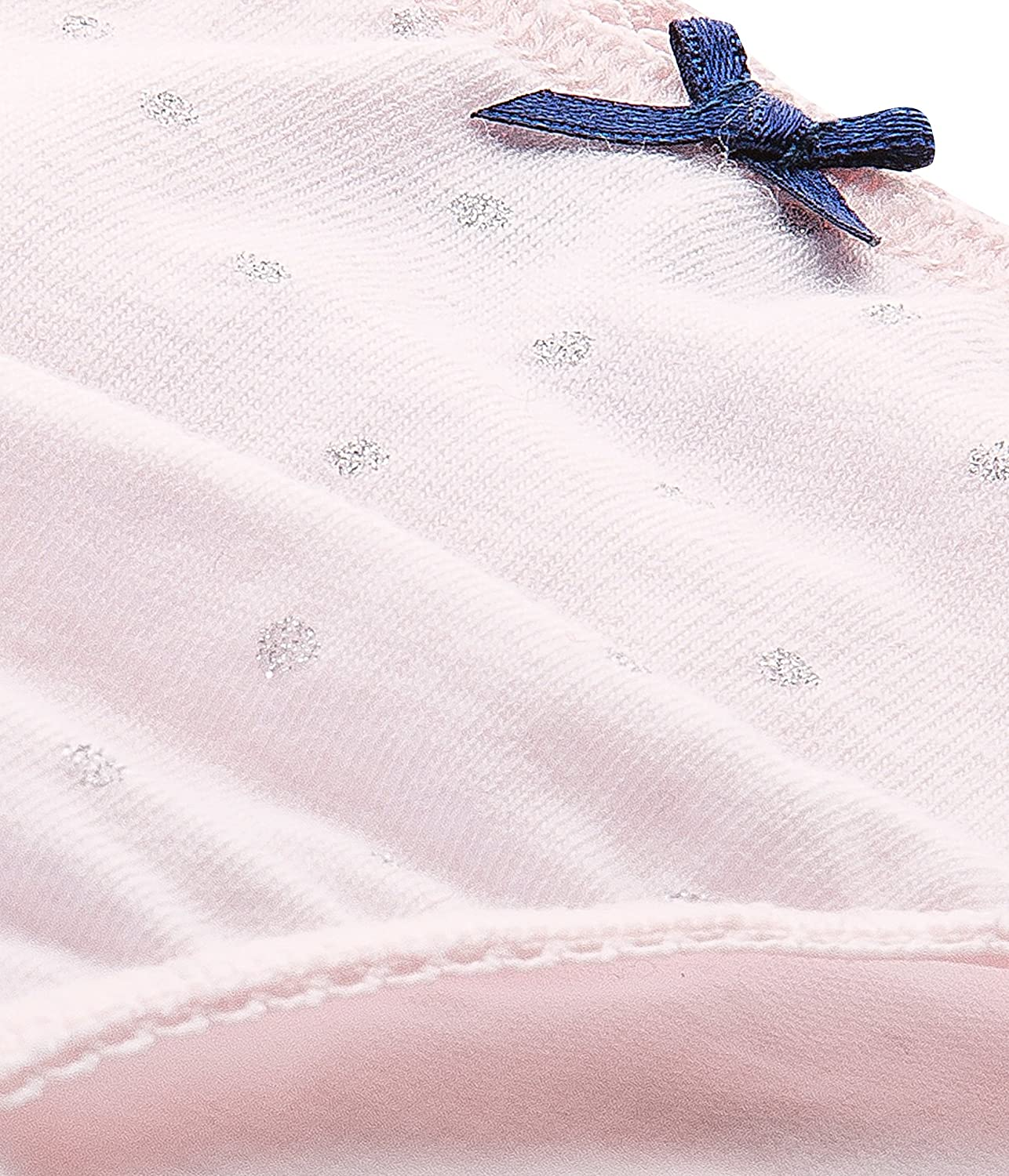Solid Pink-Silver DOTS Sizes 8-18 Style 21470 Size 18 Style 21470 Petit Bateau Girls Underwear-Pantie 1 PK