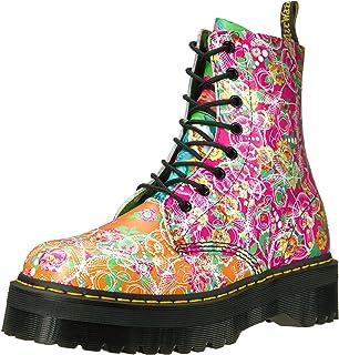 Dr. Martens Pascal 8-Eye Boot, Size: 4 M, Multi Daze Backhand Full Grain Leather
