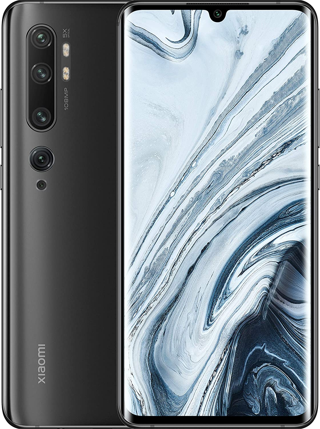 Xiaomi Mi Note 10 4G 128GB Dual-SIM Midnight Black EU: Amazon.es ...