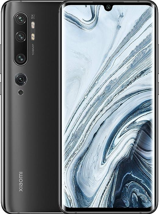 Xiaomi Mi Note 10 4G 128GB Dual-SIM Midnight Black EU: Amazon.es ...