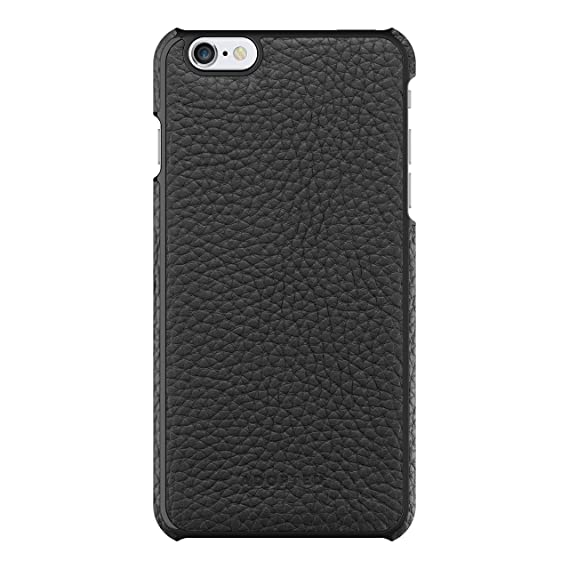 new product 2c92e 8b0c3 Adopted Leather Wrap Case for Apple iPhone 6 Plus/6s Plus, Black/Black