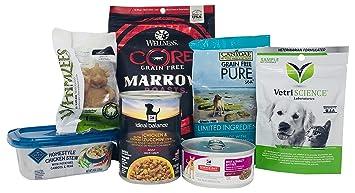 amazon com dog food and treat sample box get an equal credit