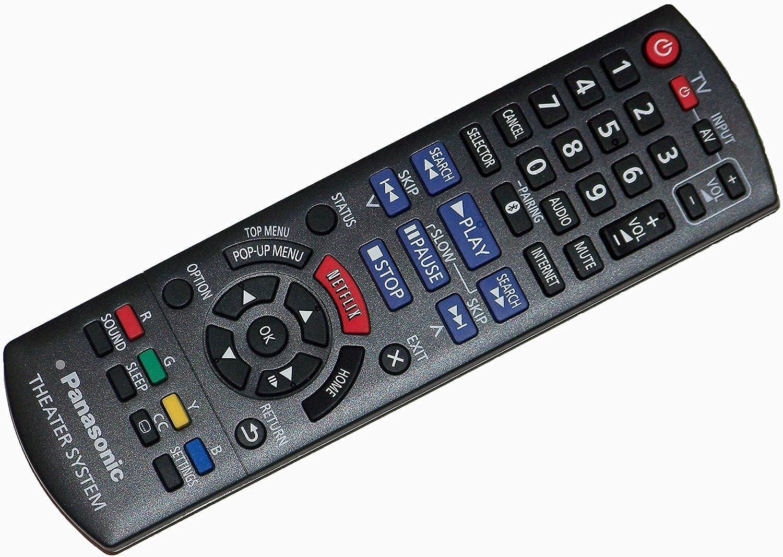 OEM Panasonic Remote Control: SABTT465 SA-BTT465 SA-BTT466 SA-BTT405 SABTT466 SCBTT405