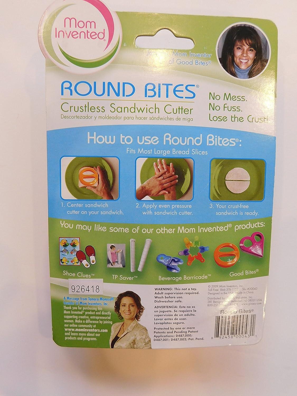 FunBites cortador de alimentos Set - Gafas de Minions (, Plata) & Mom Inventado Sandwich cortador redondo Bites Mini crust: Amazon.es: Bebé