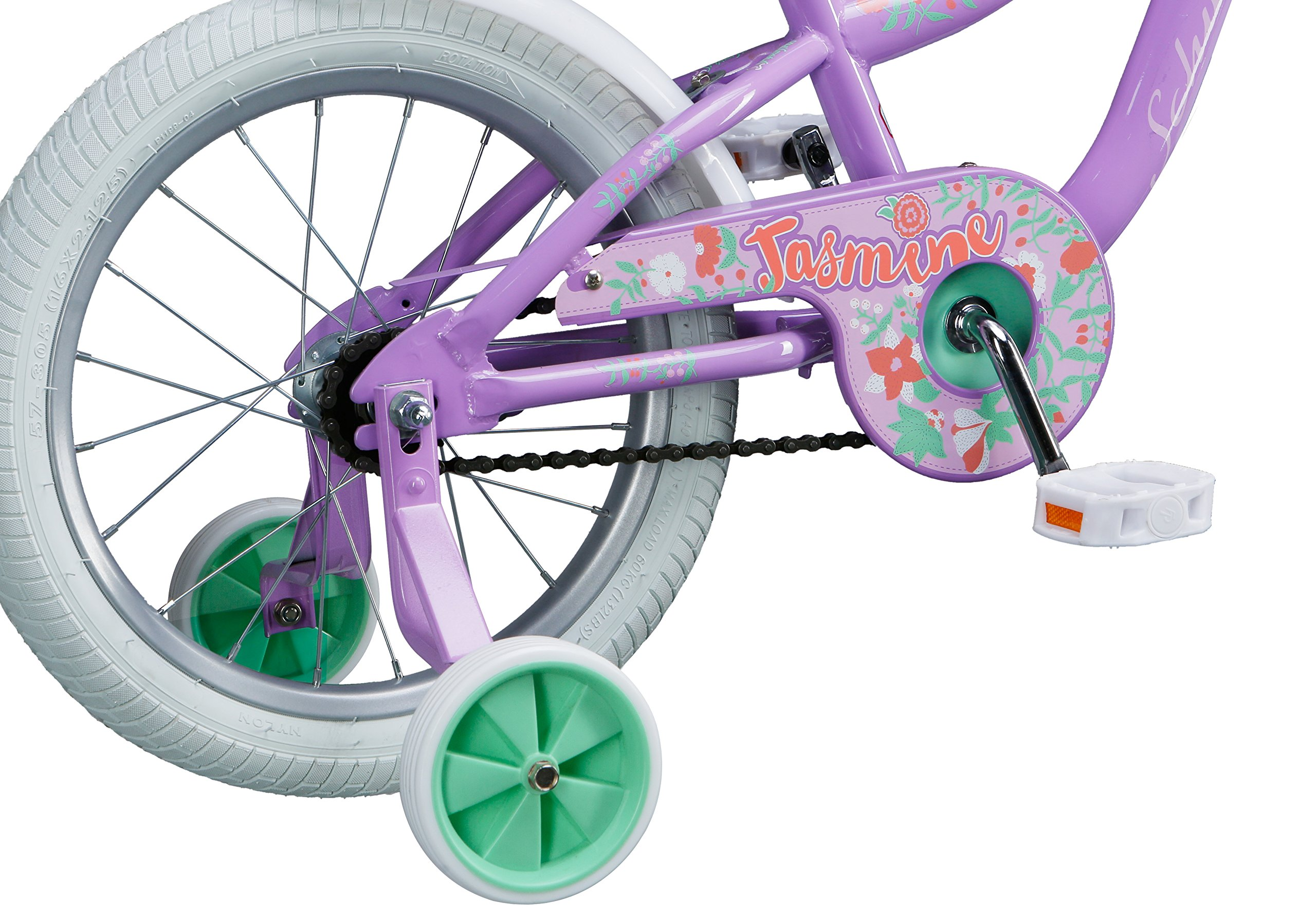 Schwinn Girl's Jasmine Bicycle, 16'', Purple by Schwinn (Image #8)