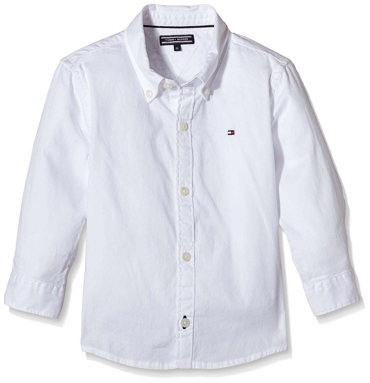 Tommy Hilfiger Boy's Solid Oxford Shirt L/S KB0KB01649