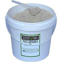 Psyllium Husks 500g in Storage Tub with Serving Scoop