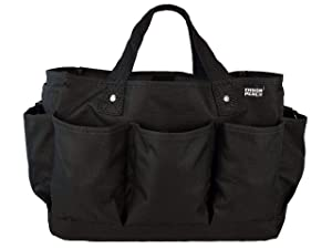 Ensign Peak Deluxe Gardening and Tool Tote Bag (Black)
