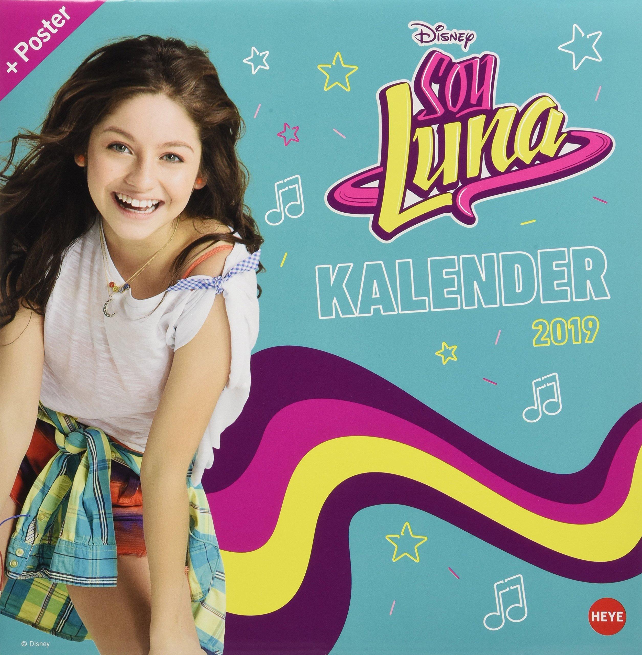 Soy Luna Broschurkalender 2019: Amazon.es: Heye: Libros en ...