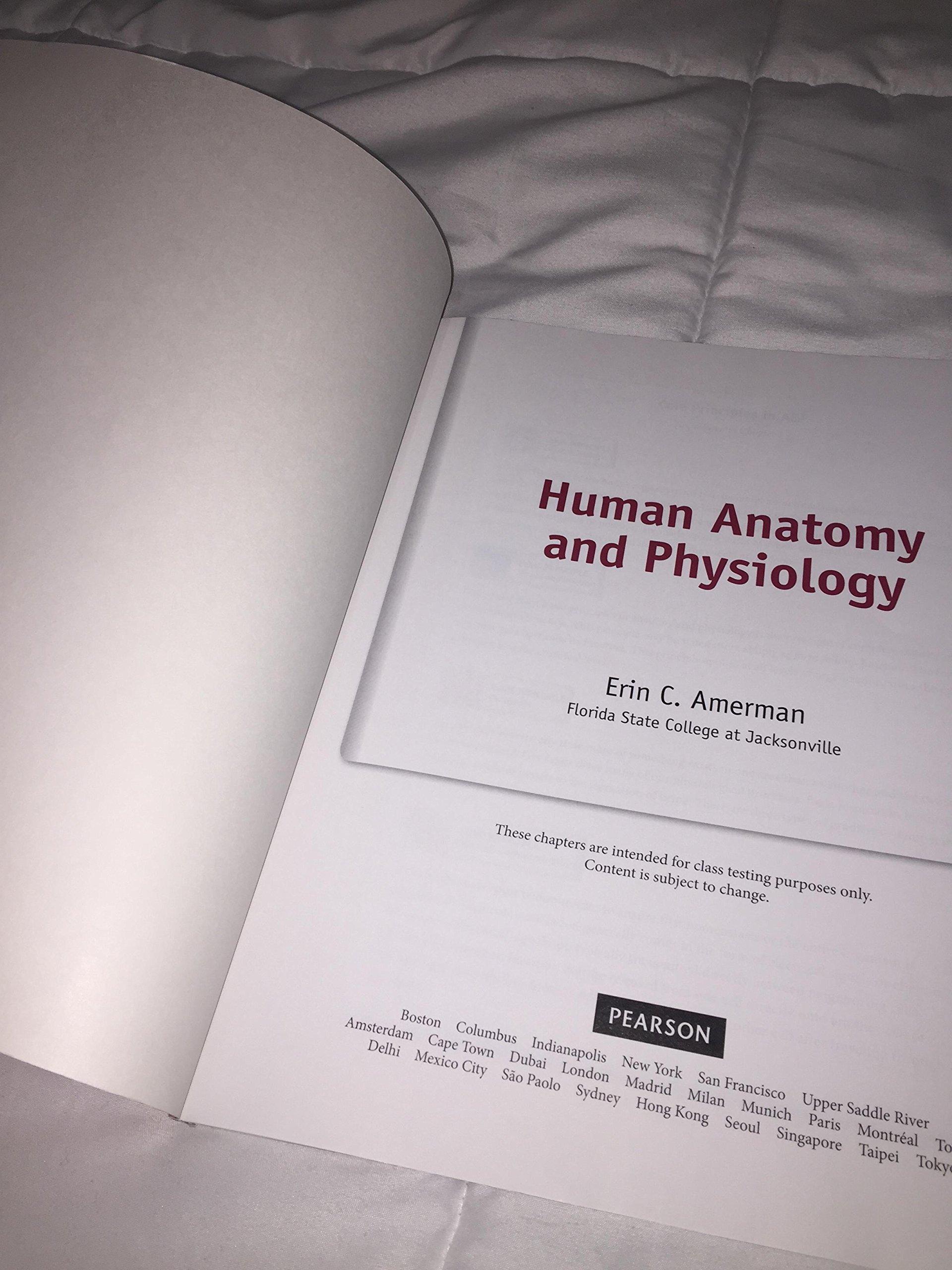 Human Anatomy & Physiology: 9780133889550: Amazon.com: Books
