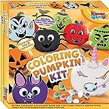 JOYIN Klever Kits Halloween Kids DIY Arts and Craft Coloring Pumpkin Kit for Kids DIY Craft and Halloween Art Activities