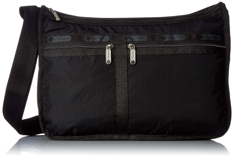Il sportsac porta Epaule M, sacchetto tracolla. Blu (Litho Dot Blue) Taglia unica LeSportsac Handbags Deluxe Everyday Handbag
