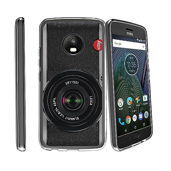 reputable site 3c621 882d8 MINITURTLE Case Compatible w/Case for Motorola Moto G5 Plus Case | Moto G5  Plus Case [Flex Force] Clear Cover Flexible Slim TPU Case w/Unique Images  ...