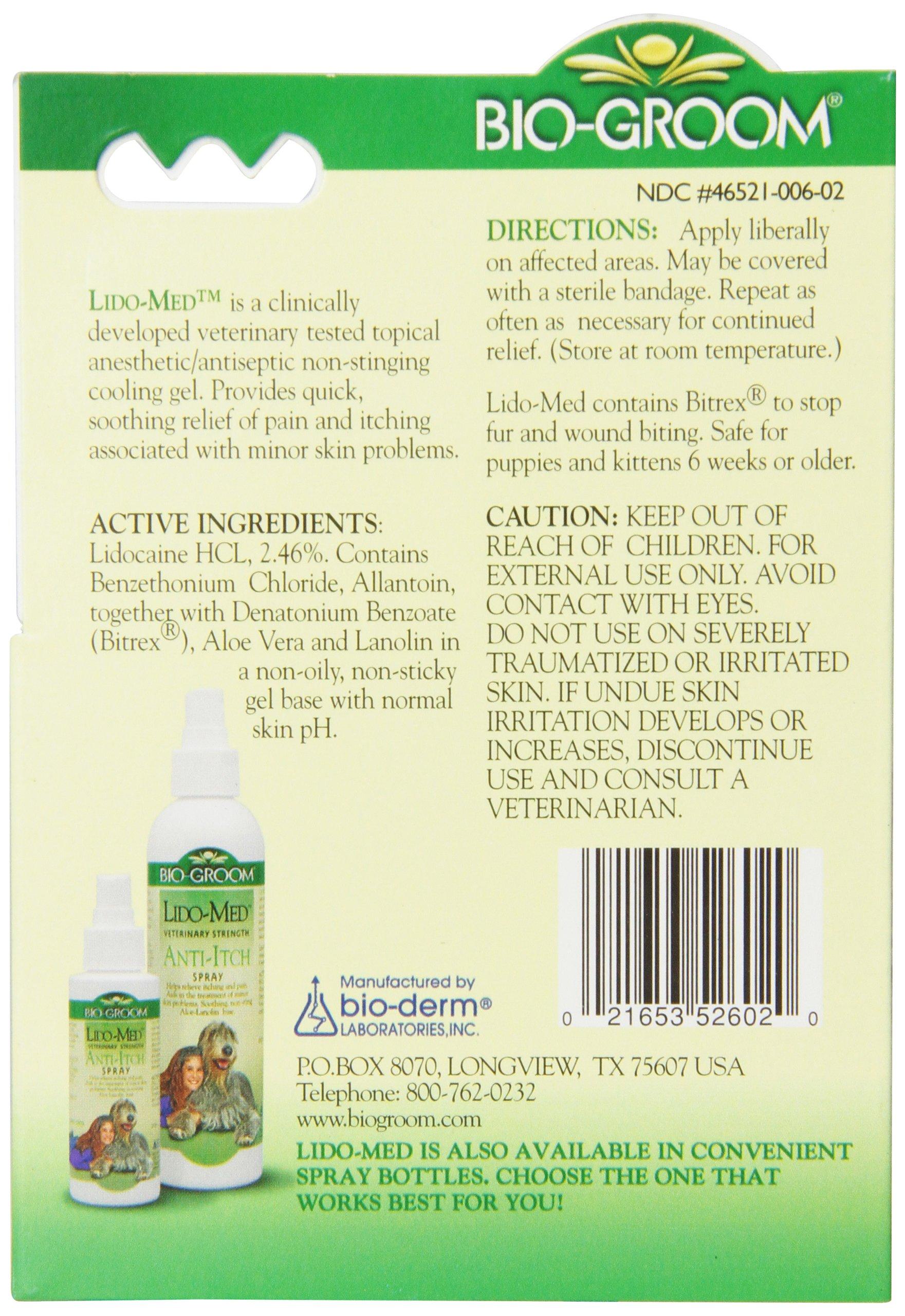 Bio-groom Lido Med Anti Itch Gel, 2-Ounce