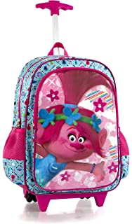 DreamWorks Core Kids Rolling Backpack with Shoulder Strap - 18 Inch  Trolls  2be9ac5af2a28