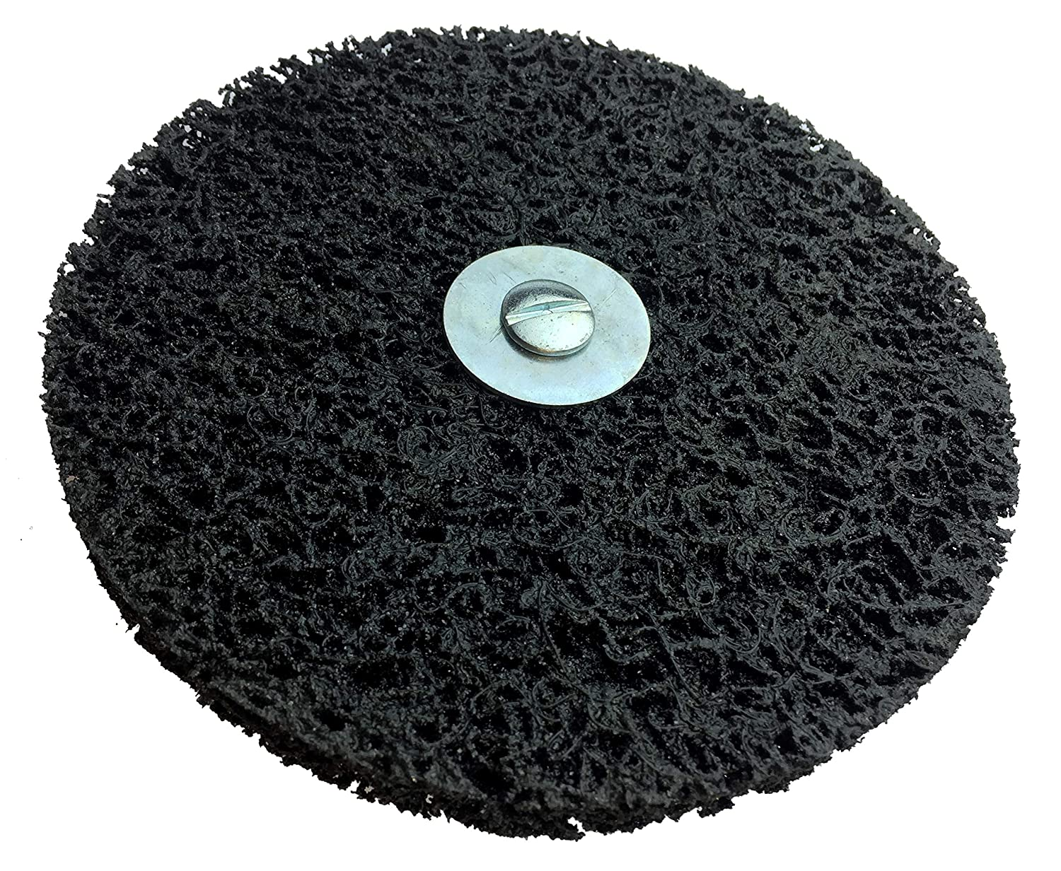 Falon Tech Cleaning Disc Diameter 150 x 10 x 13 mm Coarse Cleaning Disc Including Mandrel Clean Strip Disc