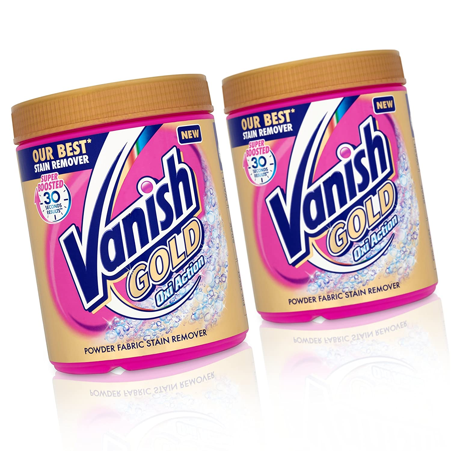 Vanish Oxi Acción de oro Quitamanchas Powder 940 g: Amazon ...