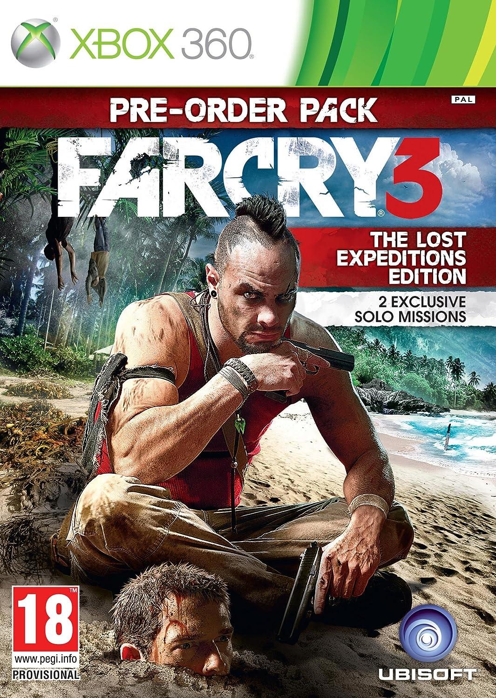 Far Cry 3 - The Lost Expeditions Edition (Xbox 360) [Importación ...