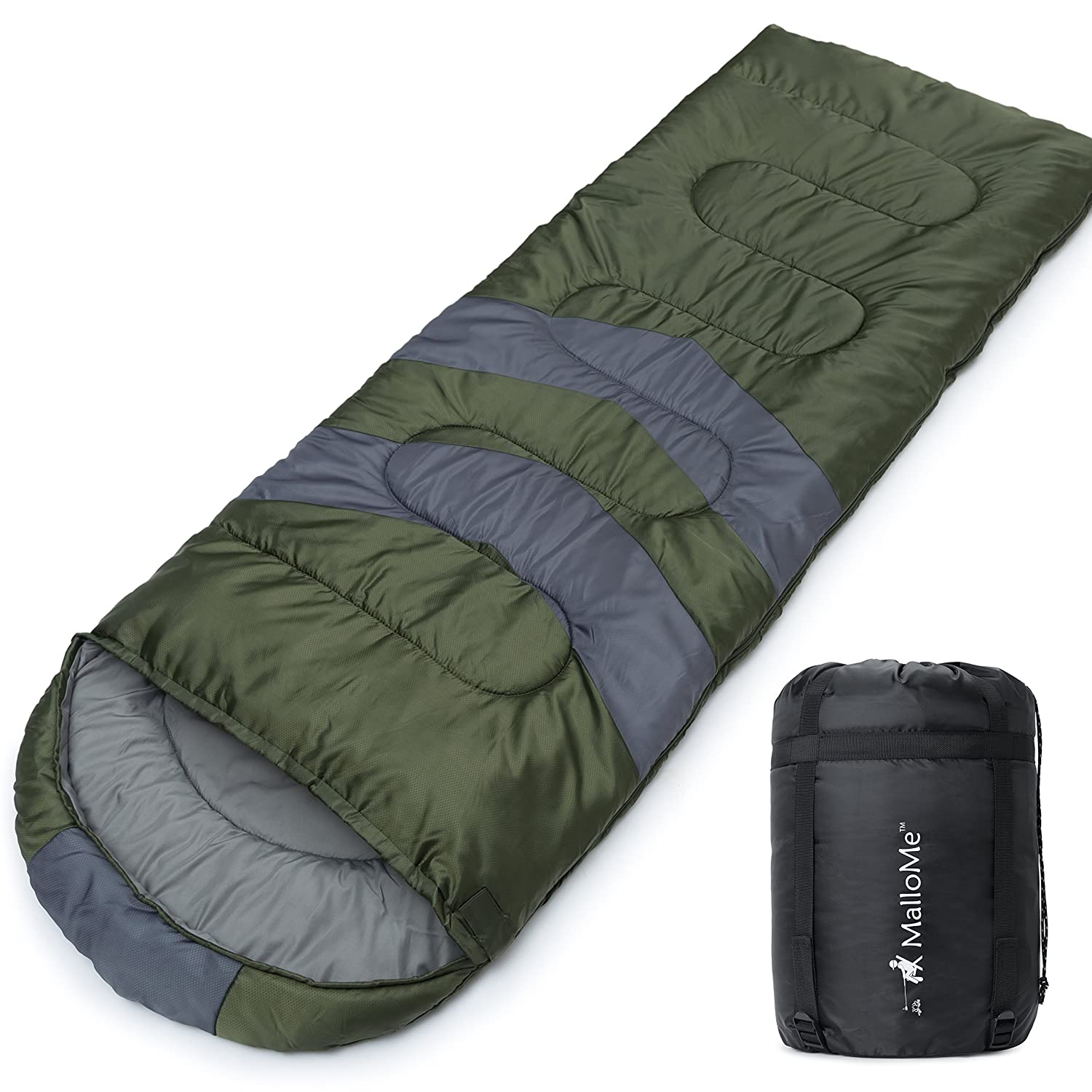 MalloMe Camping Sleeping Bag O...