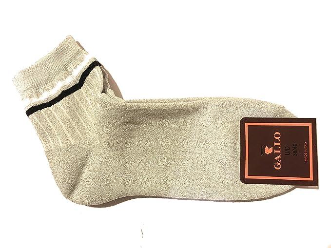 Gallo - Calcetines cortos - para mujer Plateado plateado Talla única