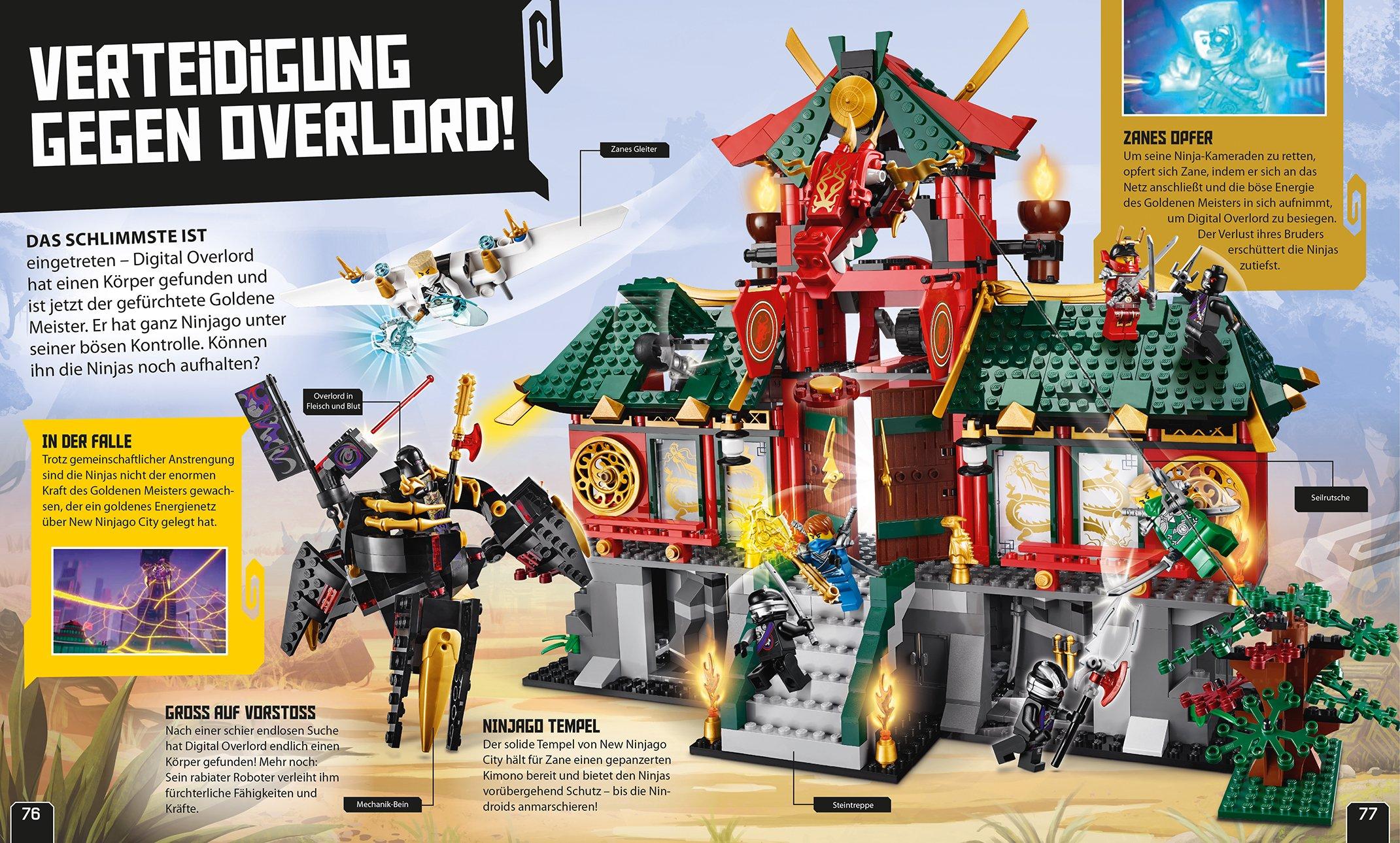 LEGO® NINJAGO®. Die geheime Welt der Ninjas: Amazon.es ...