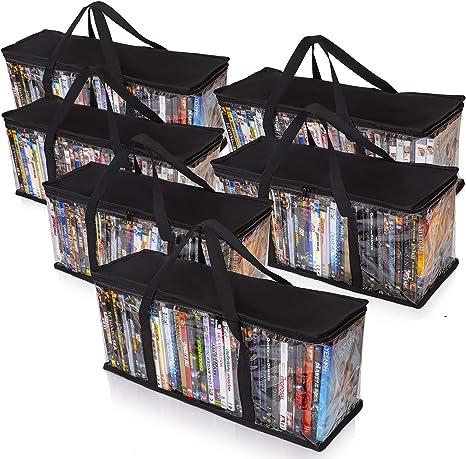 Amazon.com: Besti - Bolsas de almacenamiento de DVD para el ...