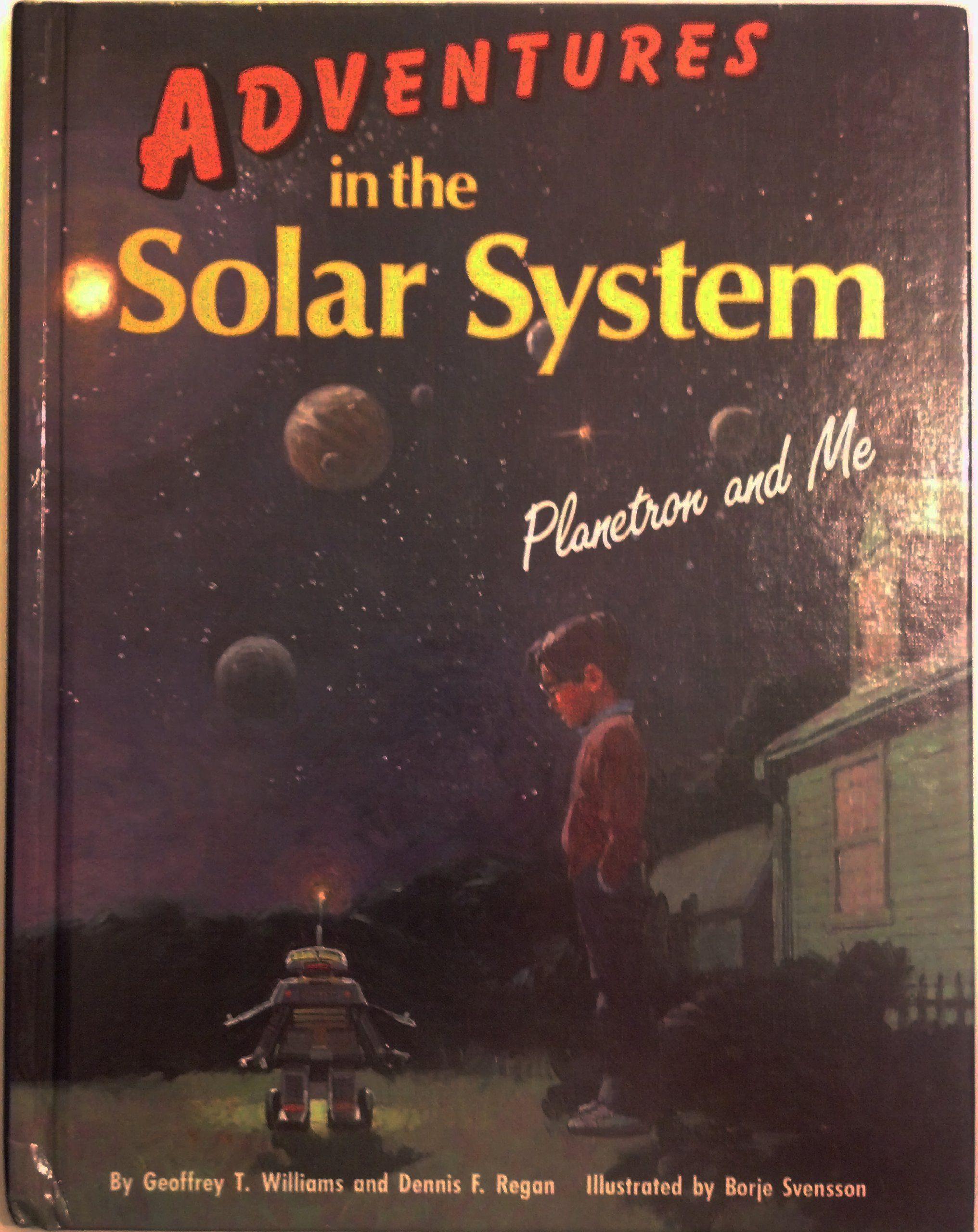 Read Online Adventures in the Solar System: Planetron and Me PDF