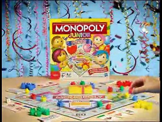 Hasbro Juegos en Familia Monopoly Junior Party 36887105: Amazon.es: Juguetes y juegos