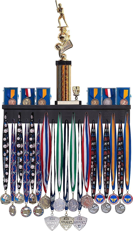 Premier 1ft Award Medal Display Rack and Trophy Shelf