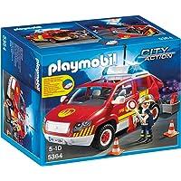 Playmobil - 5364 - Jeu De Construction - Véhicule D'intervention Avec Sirène