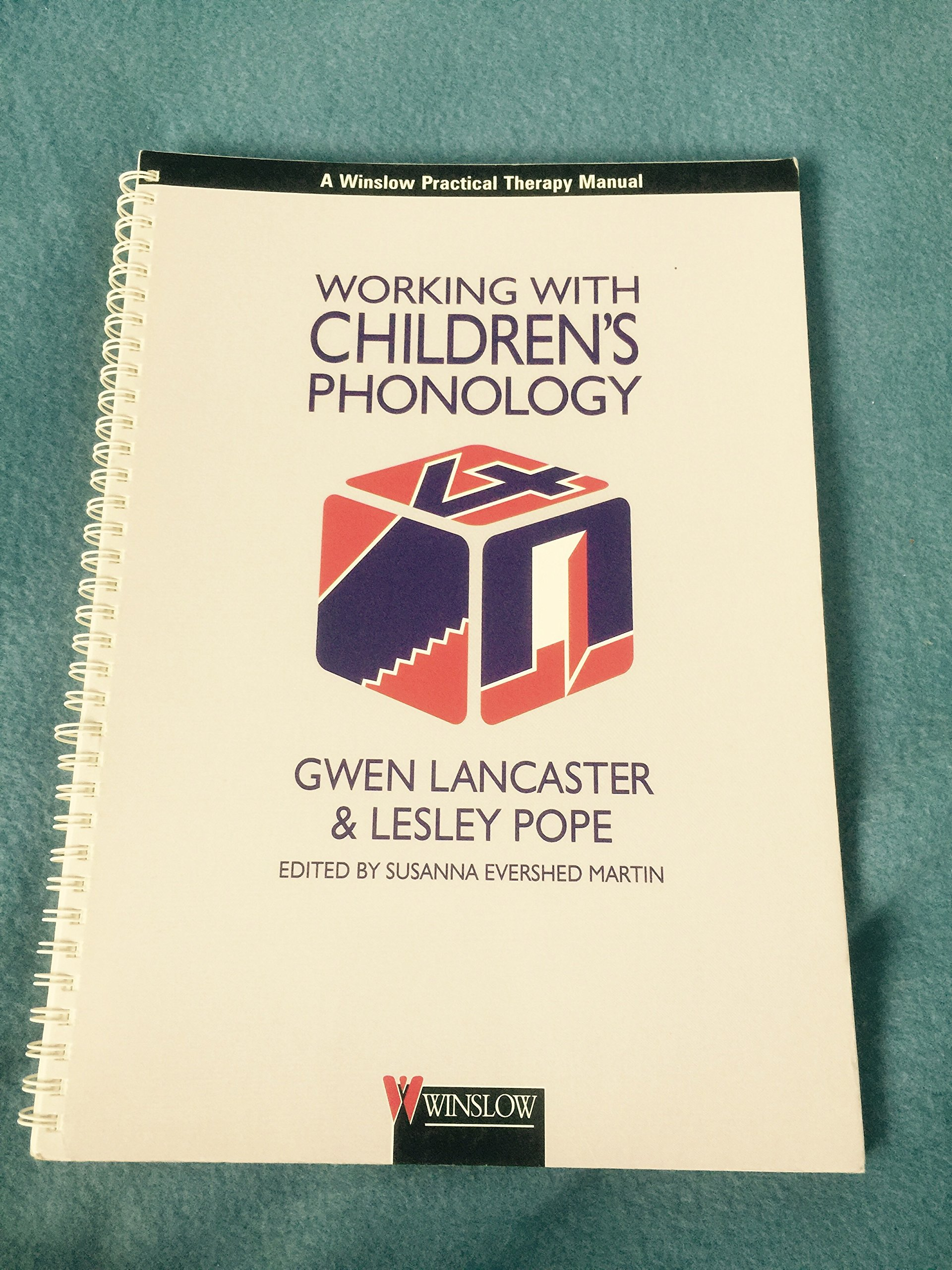 Working with Children's Phonology (Working with Series): Gwen Lancaster,  Lesley Pope, Susanna Evershed Martin: 9780863880698: Amazon.com: Books