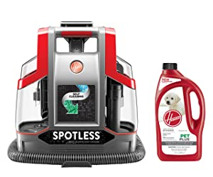 Hoover Spot Cleaner + 32oz PetPlus Pet Stain & Odor Solution Bundle