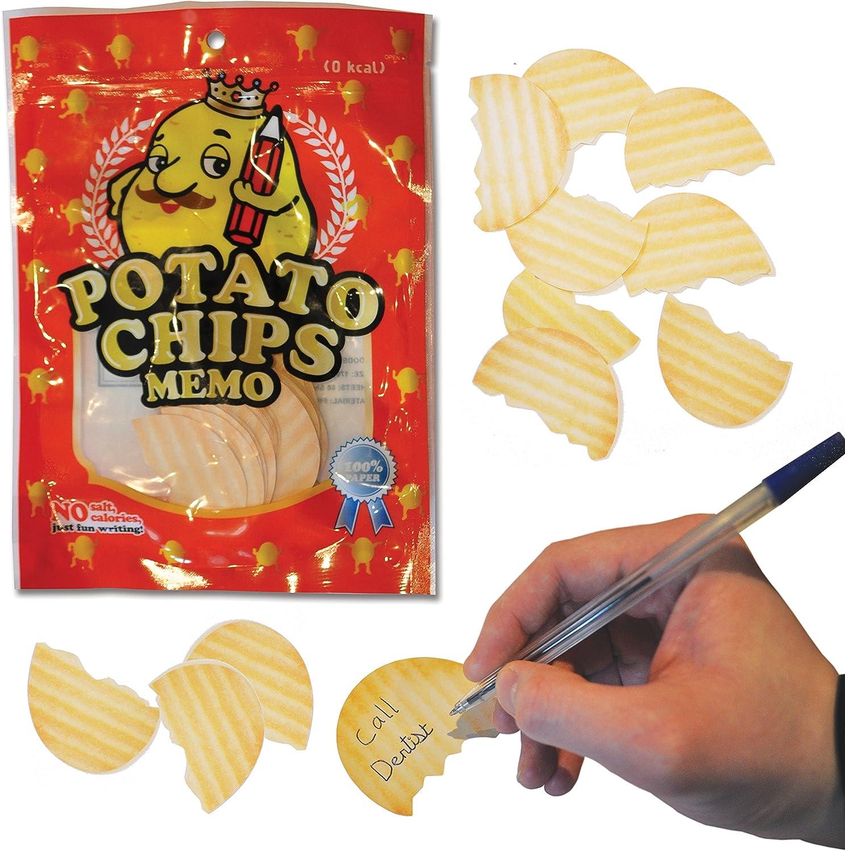 Nouveaut/é cadeau de pommes de terre Chips Papier Memo Note Pads