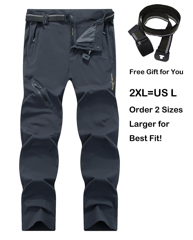 SUPERBHUNT PANTS メンズ B0734KVH9J 3L|ダークグレー ダークグレー 3L