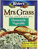 Mrs. Grass Recipe Soup & Dip Mix, Homestyle Vegetable, 2 Ounce (Pack of 12)