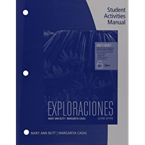 Student Activities Manual And ILrnTM Heinle Learning Center 4 Terms 24 Months