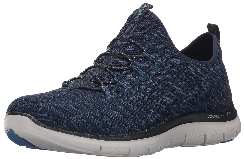 Skechers Women's Flex Appeal 2.0 Insight Sneaker B01MXPFDM8 6 B(M) US|Navy Blue