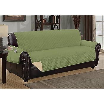 Amazon Com Sofa Guard Deluxe Reversible Sofa Furniture