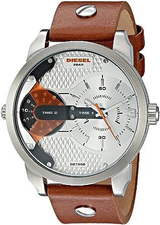 Diesel Mini Daddy Mens Watch - Silver