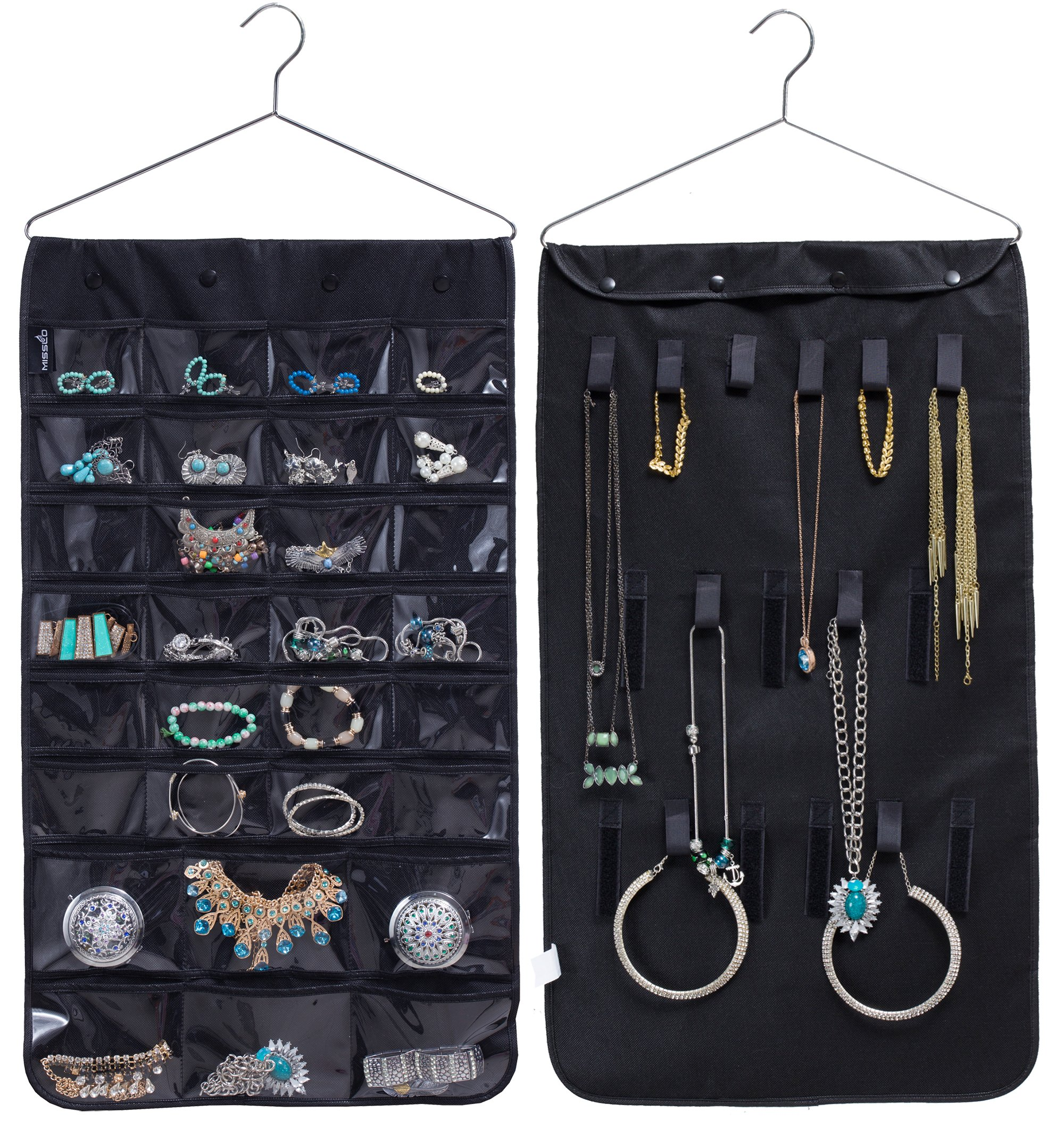Organize Your Clothes 10 Creative And Effective Ways To Store And Hang Your Clothes: Best Rated In Hanging Jewelry Organizers & Helpful