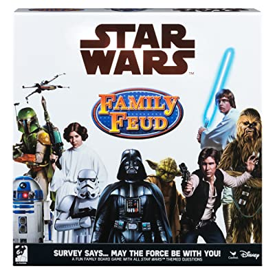 Family Feud Star Wars Trivia Game: Toys & Games