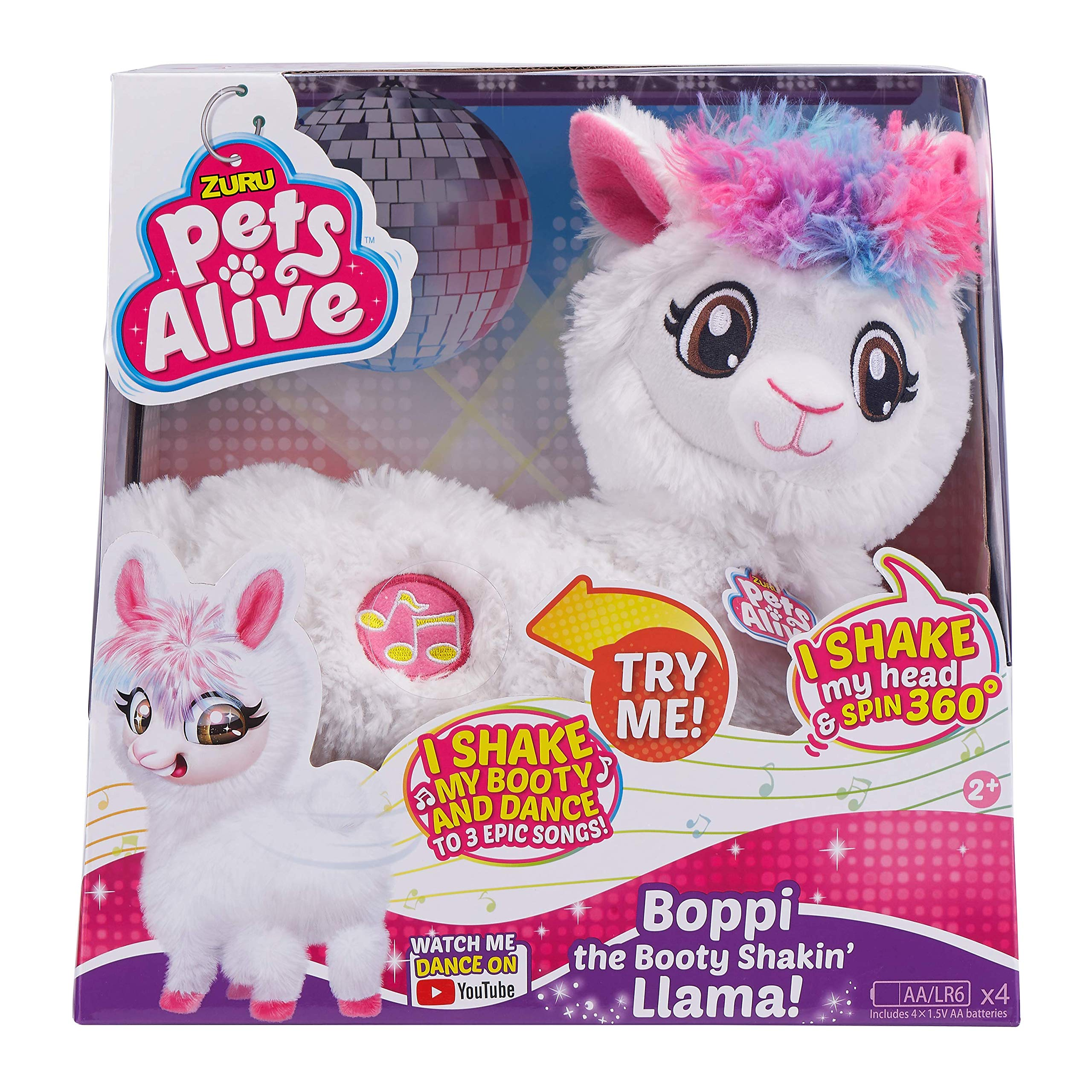 Pets Alive Boppi The Booty Shakin Llama Battery-Powered Dancing Robotic Toy by Zuru by Pets Alive (Image #1)