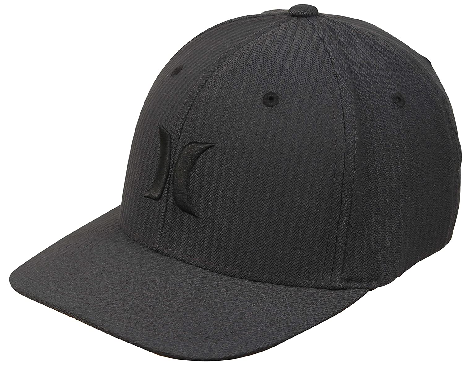 Hurley Men's Apparel Black Textures Baseball Cap Hurley Men's Apparel AA4476